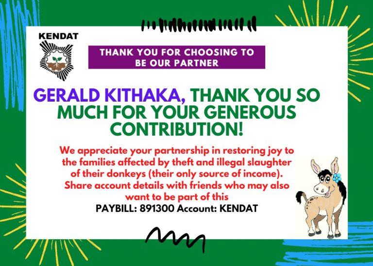 Gerald Kithaka